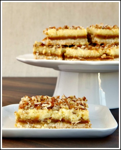 Caramel Cream Cheese Bars