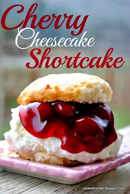 Cherry Cheesecake Shortcake