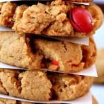 Gluten-Free Peanut Butter M&M Cookies