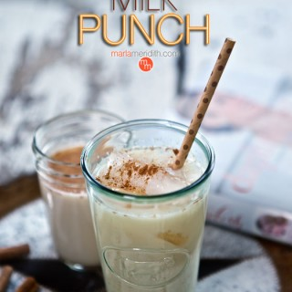 Milk Punch Cocktail Recipe