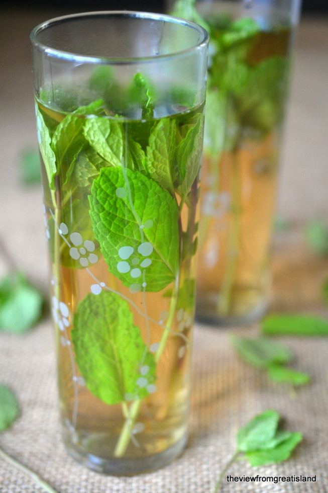 how to make sweet moroccan mint tea